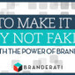 How To Make It By Not Faking It With The Power Of Brand Advocates | Social Capital: Be Nice, Noteable & Networked | Scoop.it
