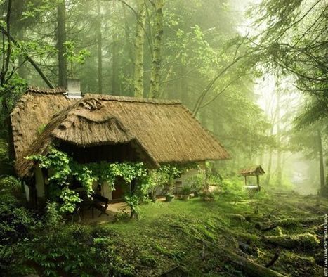 Maisons magiques au coeur de la Nature | Incroyables terriens | Scoop.it