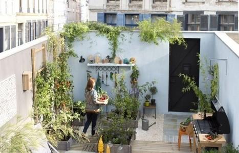 Petit jardin : nos astuces et conseils pour un petit jardin malin - Elle Décoration | Vivre sereinement son déménagement | Scoop.it