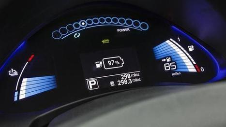 Electric cars: Big data helps designs shift gears | prediction | Scoop.it