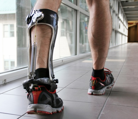 This remarkable new exoskeleton slips on like a boot and makes your walking more efficient | Amazing Science | Scoop.it