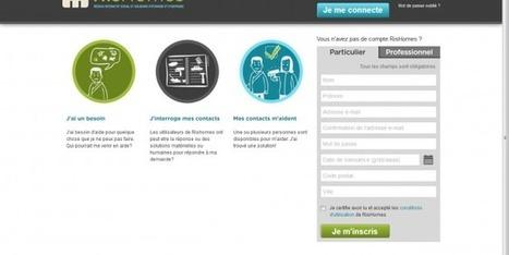 Un réseau social d'entraide pour personnes handicapées   Gazette du numérique   Scoop.it