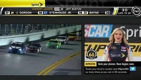 Interesante experiencia de integración de Twitter con publicidad social televisiva durante la NASCAR | Panorama Audiovisual | Big Media (En & Fr) | Scoop.it