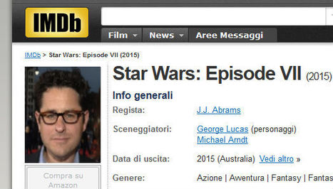 E' fatta! Il re dei nerds dirigerà Star Wars 7! | Fantascienza | Scoop.it
