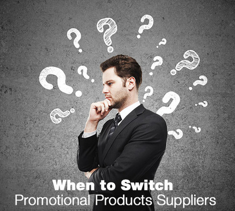 When to Switch Promotional Products Suppliers | Your Brand Partner – Staples Promotional Products Official Blog | Supplier Collaboration and Analytics | Scoop.it