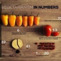 Vegetarianism in Numbers | Visual.ly | DataVizz | Scoop.it