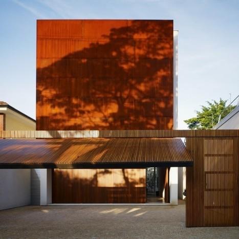 Corten House, Sao Paulo by Michael Kogan   Architecture   Scoop.it