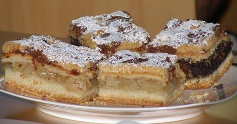 Recette de sablés aux pommes, tarte aux pommes polonaise (Pologne) | Desserts street food | Scoop.it