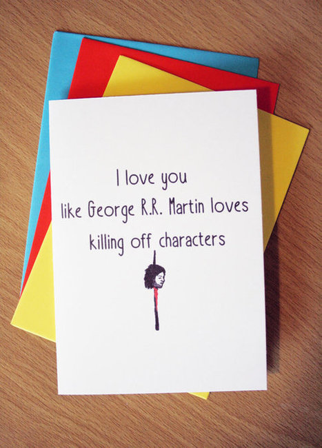 Bookish Valentine's Day Cards via @Bookriot | All Things Bookish: All about books, all the time | Scoop.it