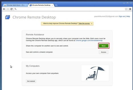 How To Access Remote Systems from Anywhere Using Google Chrome   Unixmen   GooglePlus Expertise   Scoop.it