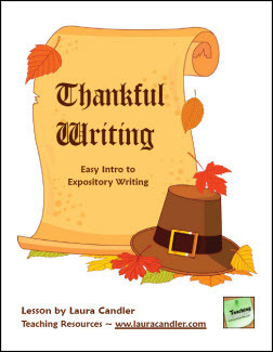 Thankful Writing: Easy Expository Writing | Seasonal Freebies for Teachers | Scoop.it