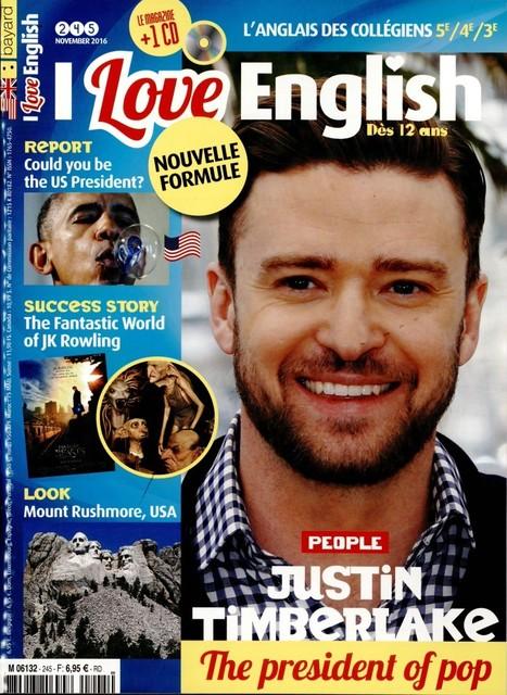I Love English N°245 - November 2016 | L'ACTU du CDI | Scoop.it