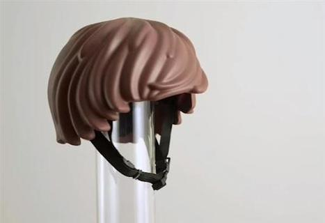 3D printed Lego-inspired HelmetHair | 3D Virtual-Real Worlds: Ed Tech | Scoop.it