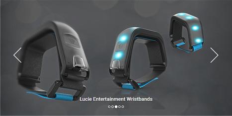 Avec son bracelet connecté, LucieLabs veut révolutionne l'expérience utilisateur dans les stades | Veille musique, industrie musicale | Scoop.it