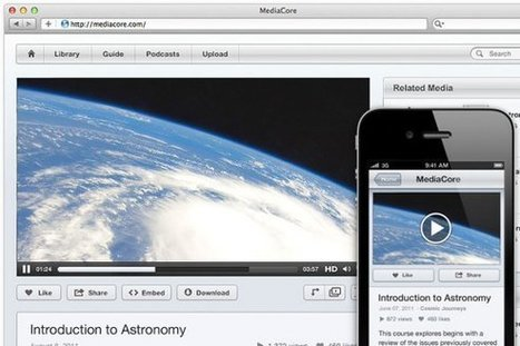 MediaCore helps schools add high quality videos to Moodle with new plug-ins | Moodlicious | Scoop.it