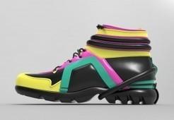 Julien Fournié dévoile sa première collection de chaussures créée entièrement en numérique | FashionLab | Scoop.it