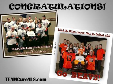 CONGRATULATIONS! T.E.A.M. Mike Lopez | Ski to Defeat ALS | You ROCKED the Mountain! | #ALS AWARENESS #LouGehrigsDisease #PARKINSONS | Scoop.it