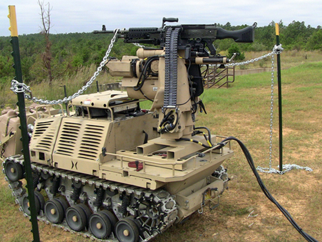 U.S. military gets fired up over weaponized robots   #Technology   Scoop.it
