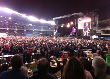 Le concert marathon de Bruce Springsteen au Stade Anoeta de San Sebastian - le blog Bruce Springsteen | Bruce Springsteen | Scoop.it
