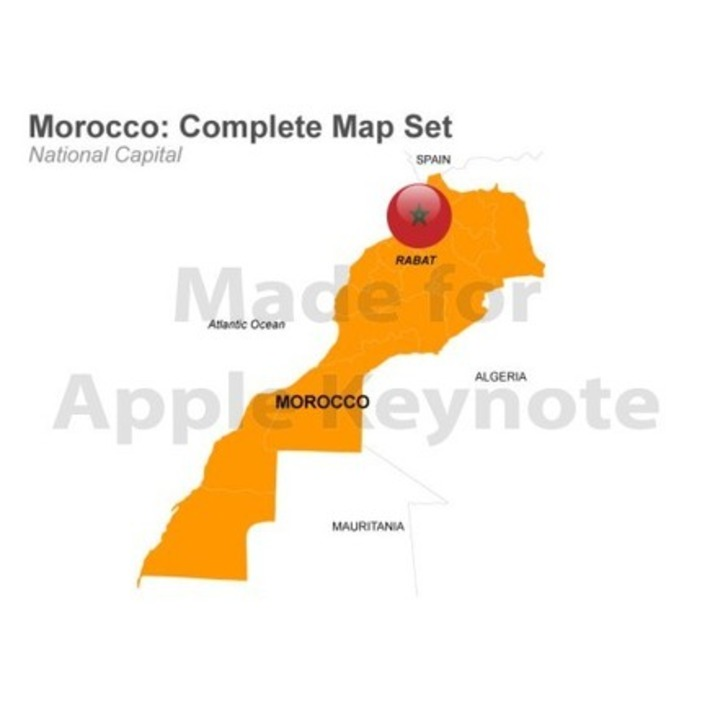 Morocco Map $39 USD | MAPS  Ideas, Examples, Resources | Scoop.it