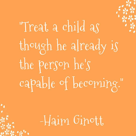 Good Parenting Quote by Haim Ginott - Parents and kids | Parenting | Scoop.it