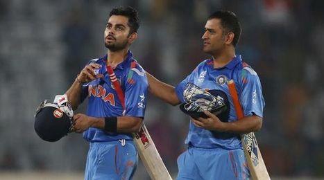 ICC World Twenty20: Dhoni gifted the winning runs to Kohli - Latest Sports Buzz | Sandhira Sports | Scoop.it
