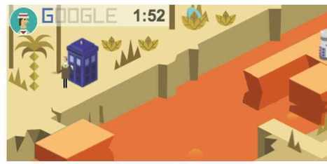 Google's Logo Is An Addictive, Multi-Level Video Game To Celebrate The 50th Anniversary of 'Doctor Who' | Digital-News on Scoop.it today | Scoop.it
