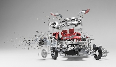 Incredible 'Disintegrating' Car Composites that Took Two Months to Create... Each | FOTOGRAFIA Y VIDEO HDSLR PHOTOGRAPHY & VIDEO | Scoop.it