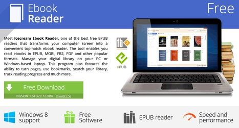 Ebook Reader: free MOBI and EPUB reader for Windows - Icecream Apps | Aprendiendo a Distancia | Scoop.it
