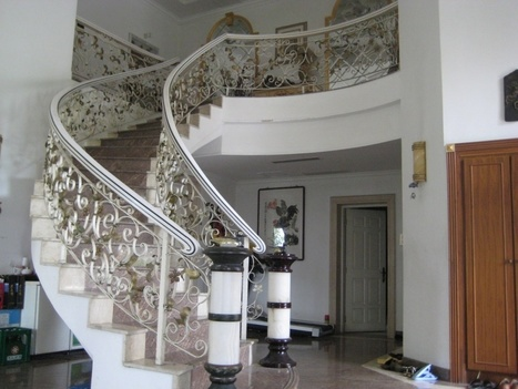 Looking for attractive Balustrade designs?   Wrought iron staircases Sydney   Scoop.it