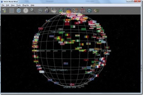 View 3D Map of the Earth from Desktop: NASA World Wind | Time to Learn | Scoop.it
