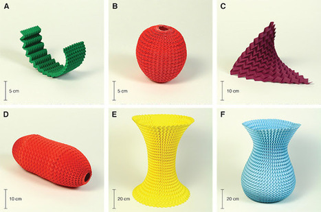 Next Big Future: Simple Origami fold may hold the key to designing Pop-up Furniture, Medical Devices and Scientific Tools | Geometry Math | Scoop.it