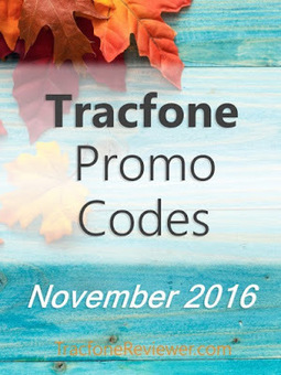 Tracfone Promo Codes for November 2016 | Tracfone Reviews and Promo Codes | Scoop.it