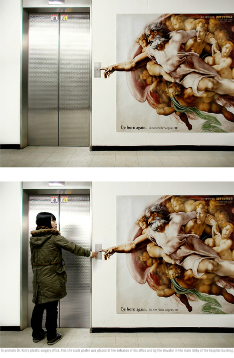 18 Head Turning Elevator Advertisements That Inspires You To Think Outside The Box | Visual Content Strategy | Scoop.it