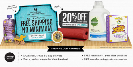 Vine.com: Find natural products for your whole life - Free Shipping | Health and Nutrition Articles | Scoop.it