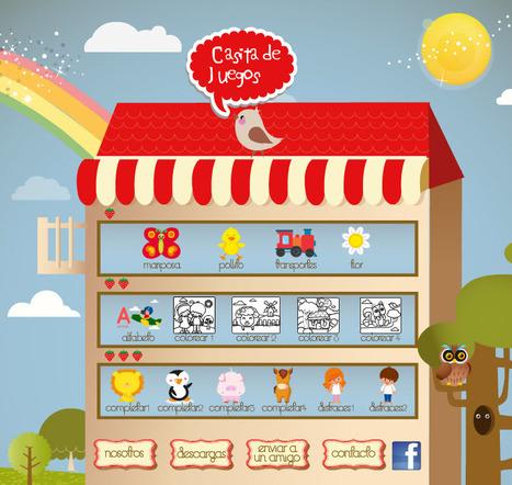 Casita de Juegos   juegos online para los más chiquitos   Aprendizaje Infantil   Scoop.it