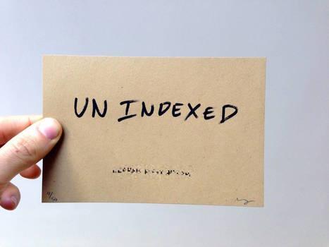 unindexed by Matthew Rothenberg - An online community that deletes itself once it's indexed by Google | Creatividiario: recursos, inspiración y motivación para creadores en la web | Scoop.it