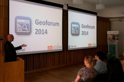 EDINA Geoforum 2014 Summary | Scoops GGE | Scoop.it