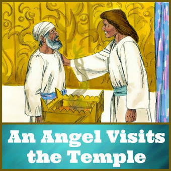 Bible Lessons for Kids: An Angel Visits the Temple | Children's Ministry Ideas | Scoop.it