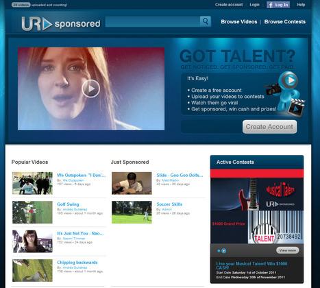URSponsored | Vous avez du talent ? | Actualités - Nouveaux sites web & outils ! | Scoop.it