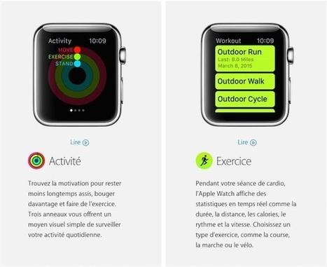 Apple Watch : la montre qui pousse à l'exercice | Quantified Self | Scoop.it