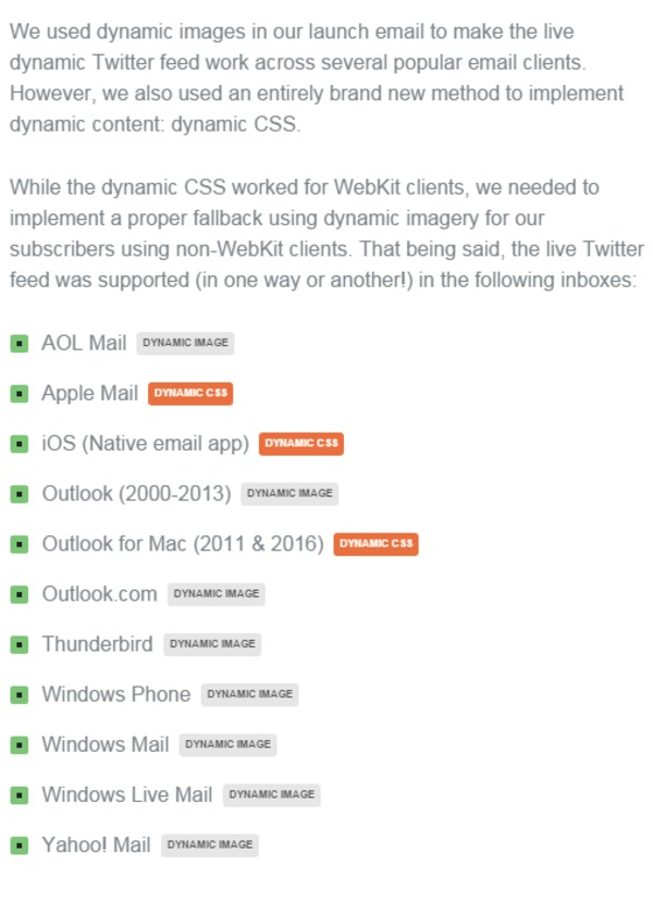 How to Code A Live Dynamic Twitter Feed in HTML Email | Litmus Blog | The Marketing Technology Alert | Scoop.it