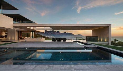 Superbe villa contemporaine avec vue panoramique sur la mer en Afrique du Sud   Construire Tendance   Scoop.it