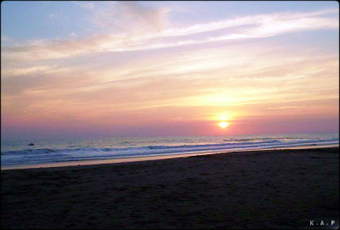 Photo of the day: Sunset in La Libertad, El Salvador   Travel around the world   Scoop.it