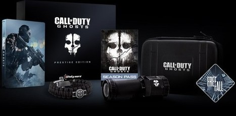 Call of Duty: Ghosts Prestige Edition will include a 1080p action camera | Cod | Scoop.it