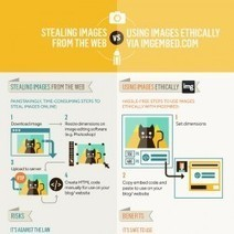 Stealing Images Online VS Using Images Fairly | Visual.ly | eLearning in the 21st century | Scoop.it