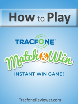 TracfoneReviewer: Tracfone Match & Win - What Is It?   Tracfone Reviews and Promo Codes   Scoop.it