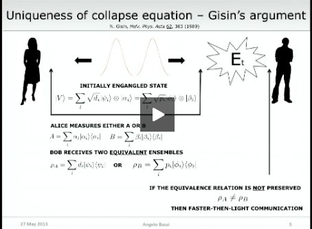 Phenomenology of spontaneous wave-function collapse models | Science-Videos | Scoop.it