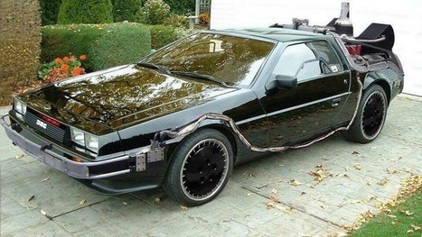 Knight Rider Goes Back To The Future in This Awesome DeLorean K.I.T.T. | WTF Posts | Scoop.it