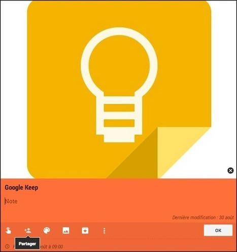 Google Keep : le bloc-notes gratuit disponible sur le web et en application | TICE en tous genres éducatifs | Scoop.it